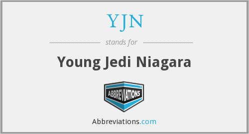 YJN - Young Jedi Niagara