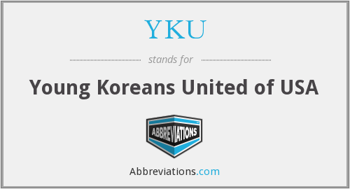 What does YKU stand for?