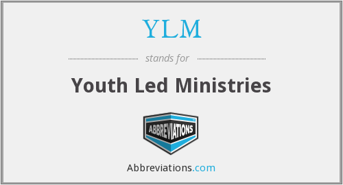 YLM - Youth Led Ministries