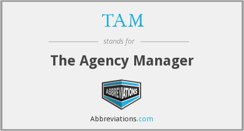 TAM - The Agency Manager