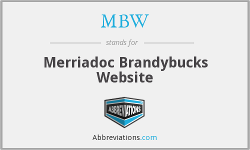 MBW - Merriadoc Brandybucks Website