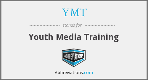 YMT - Youth Media Training