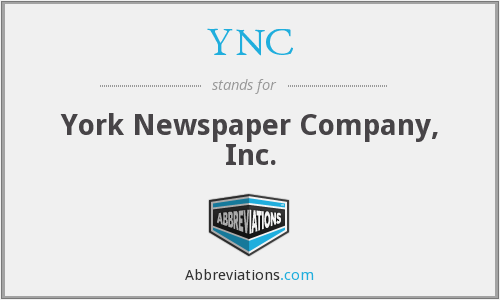 YNC - York Newspaper Company, Inc.