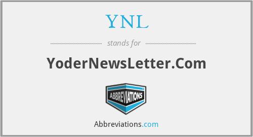 YNL - YoderNewsLetter.Com