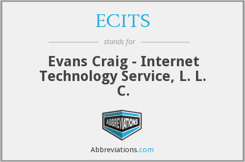 What does ECITS stand for?