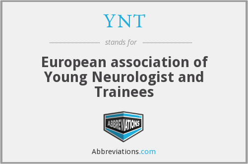 YNT - European association of Young Neurologist and Trainees
