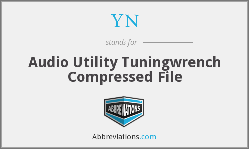 YN - Audio Utility Tuningwrench Compressed File