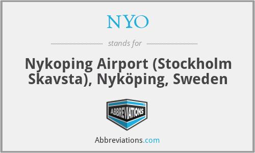 NYO - Nykoping Airport (Stockholm Skavsta), Nyköping, Sweden