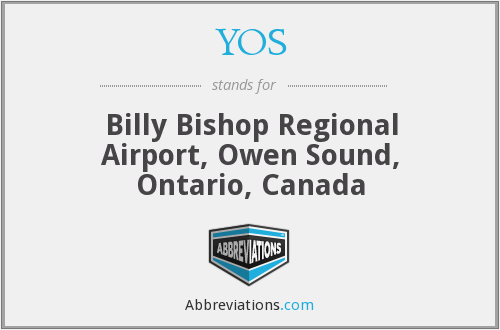 YOS - Billy Bishop Regional Airport, Owen Sound, Ontario, Canada