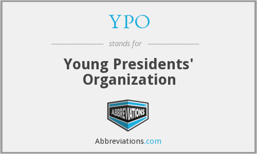 What does YPO stand for?