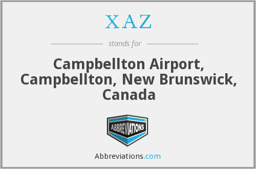 XAZ - Campbellton Airport, Campbellton, New Brunswick, Canada
