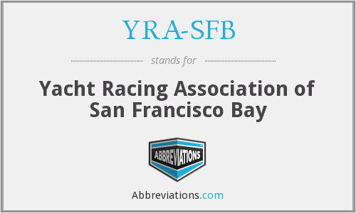 YRA-SFB - Yacht Racing Association of San Francisco Bay