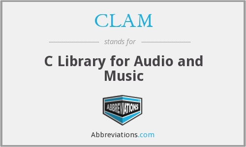 CLAM - C Library for Audio and Music