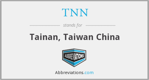 What does TNN stand for?