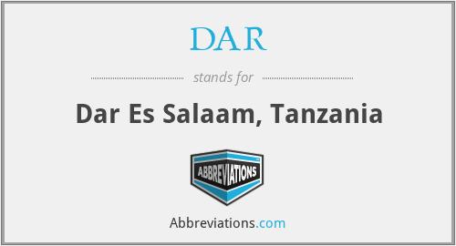 DAR - Dar Es Salaam, Tanzania