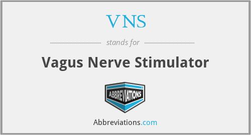 VNS - Vagus Nerve Stimulator