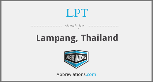 What does Lampang stand for?