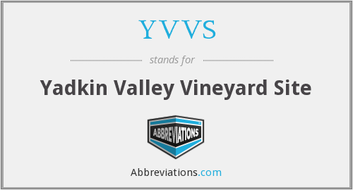 YVVS - Yadkin Valley Vineyard Site