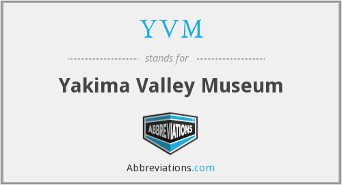 What does YVM stand for?