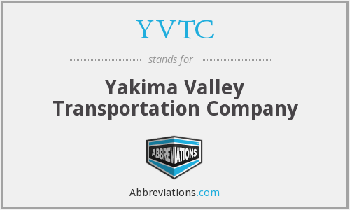 YVTC - Yakima Valley Transportation Company