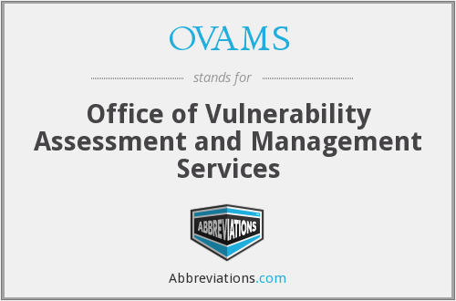 What does OVAMS stand for?