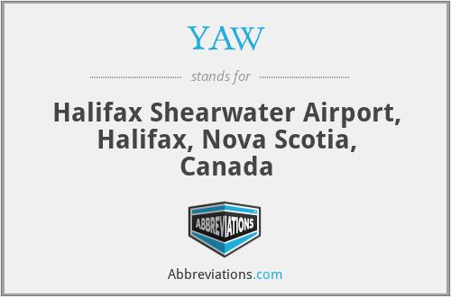 YAW - Halifax Shearwater Airport, Halifax, Nova Scotia, Canada