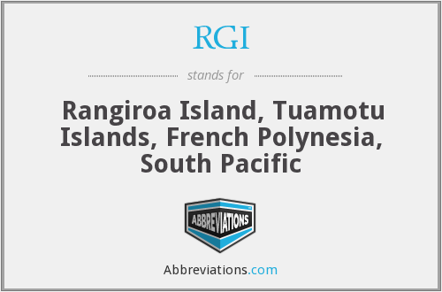 What does RGI stand for?