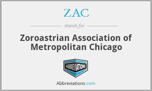 ZAC - Zoroastrian Association of Metropolitan Chicago