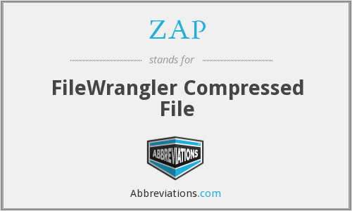 ZAP - FileWrangler Compressed File