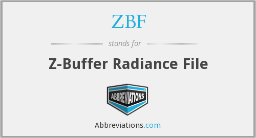 What does ZBF stand for?