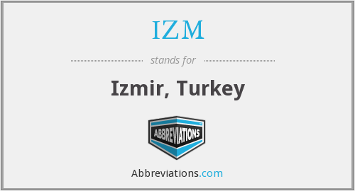 What does IZM stand for?