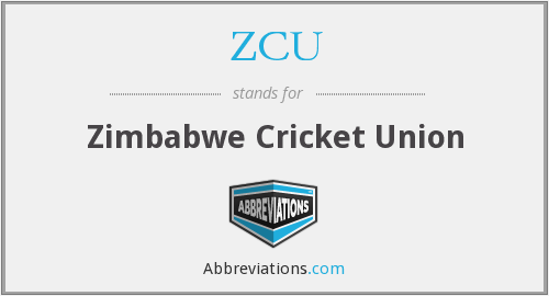 What does ZCU stand for?