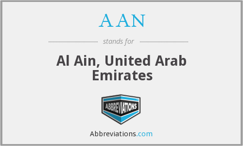 AAN - Al Ain, United Arab Emirates