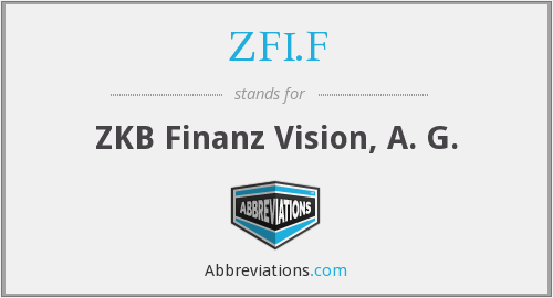 What does ZFI.F stand for?