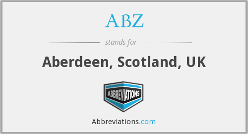 ABZ - Aberdeen, Scotland, UK