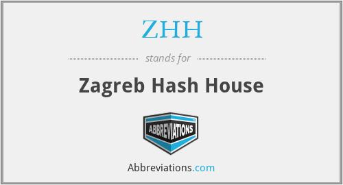 ZHH - Zagreb Hash House