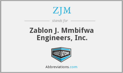 What does ZJM stand for?