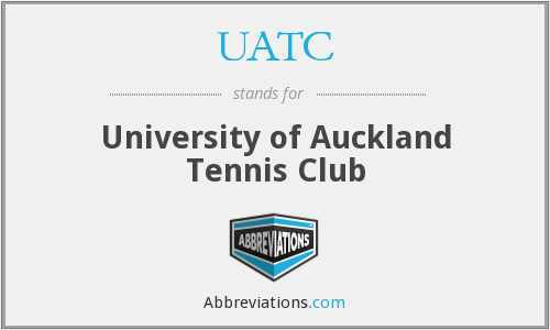 UATC - University of Auckland Tennis Club