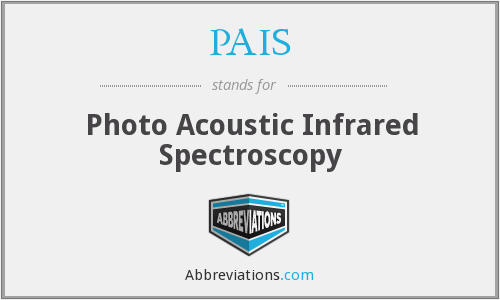 PAIS - Photo Acoustic Infrared Spectroscopy