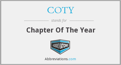 What does COTY stand for?