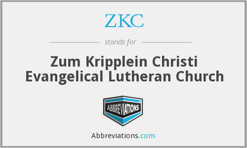ZKC - Zum Kripplein Christi Evangelical Lutheran Church