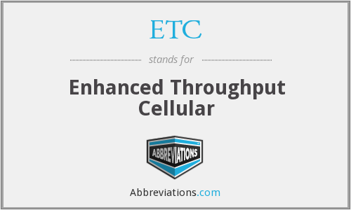 ETC - Enhanced Throughput Cellular