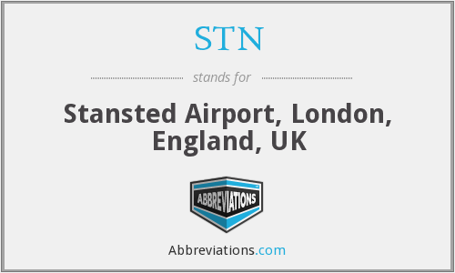 STN - Stansted Airport, London, England, UK