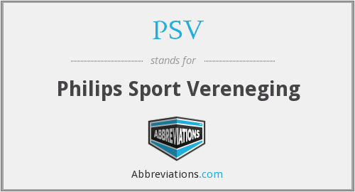 PSV - Philips Sport Vereneging