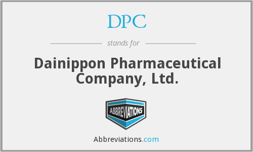 DPC - Dainippon Pharmaceutical Company, Ltd.