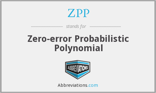 What does ZPP stand for?