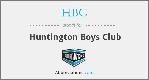 HBC - Huntington Boys Club
