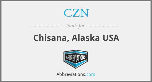 CZN - Chisana, Alaska USA