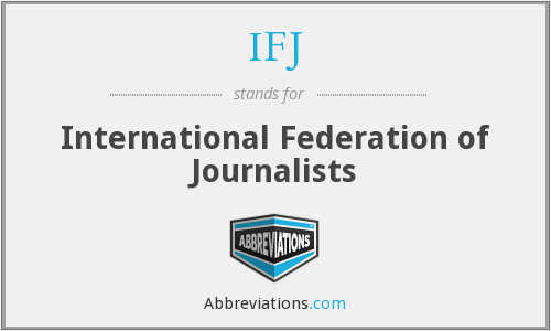 What does IFJ stand for?