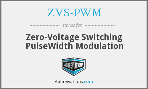What does ZVS-PWM stand for?
